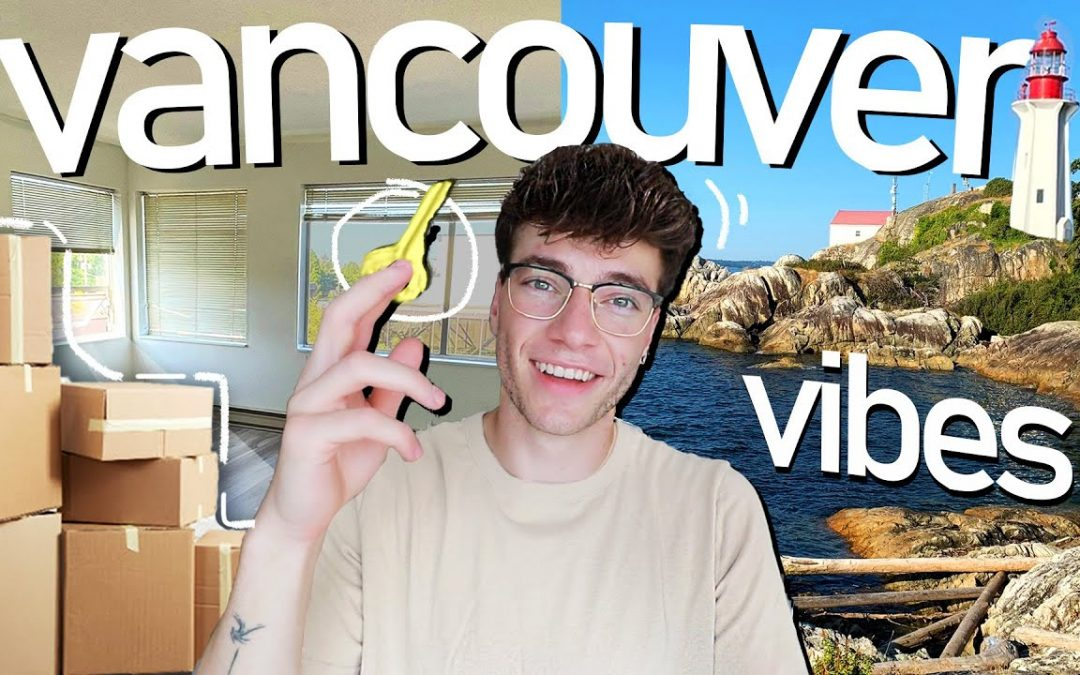 vancouver vibes | Getting the Keys to my Apartment + Tour!