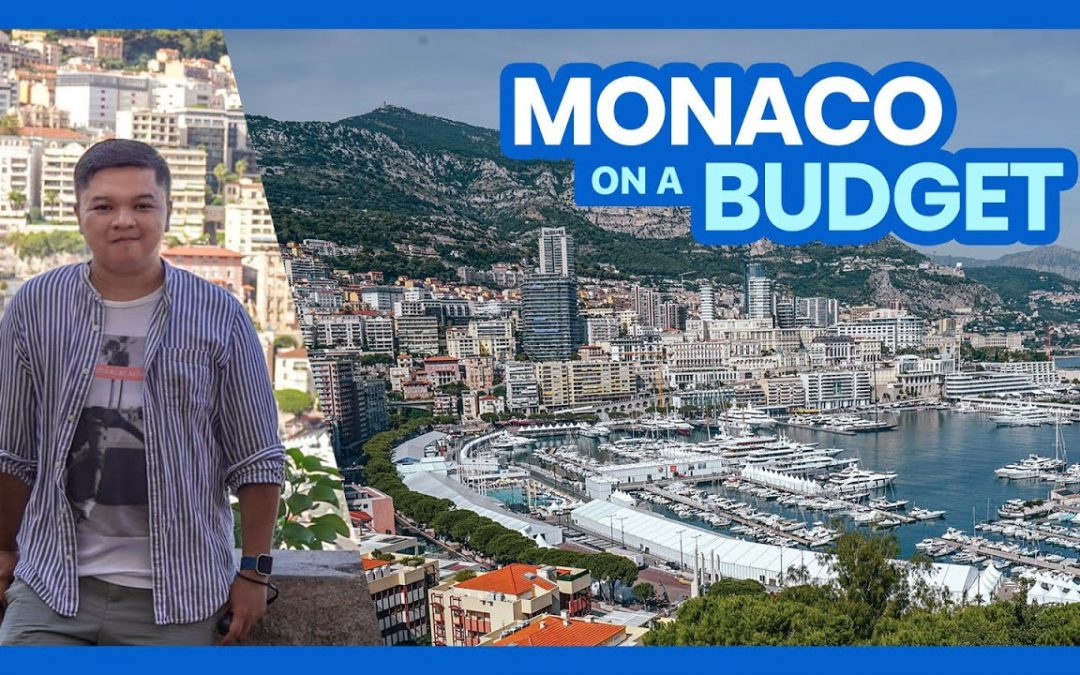 How to Plan a Trip to MONACO • BUDGET TRAVEL GUIDE Part 1