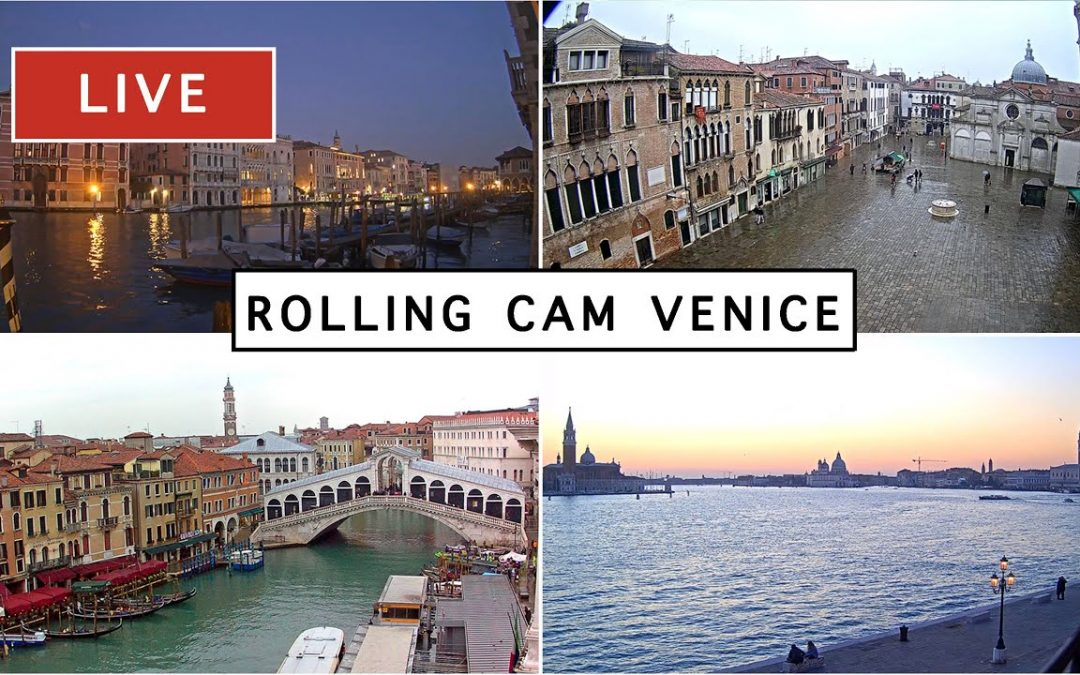 LIVE 24/7  Rolling Cam Venice – The most beautiful Live Cam in Venice Italy – Livecam en direct