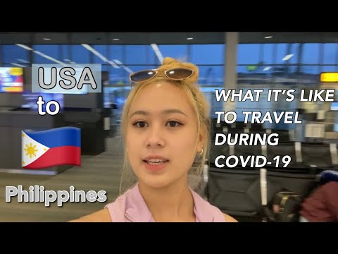 Traveling from USA to PHILIPPINES  During Pandemic   Qatar Airways   non-OFW   Travel requirements
