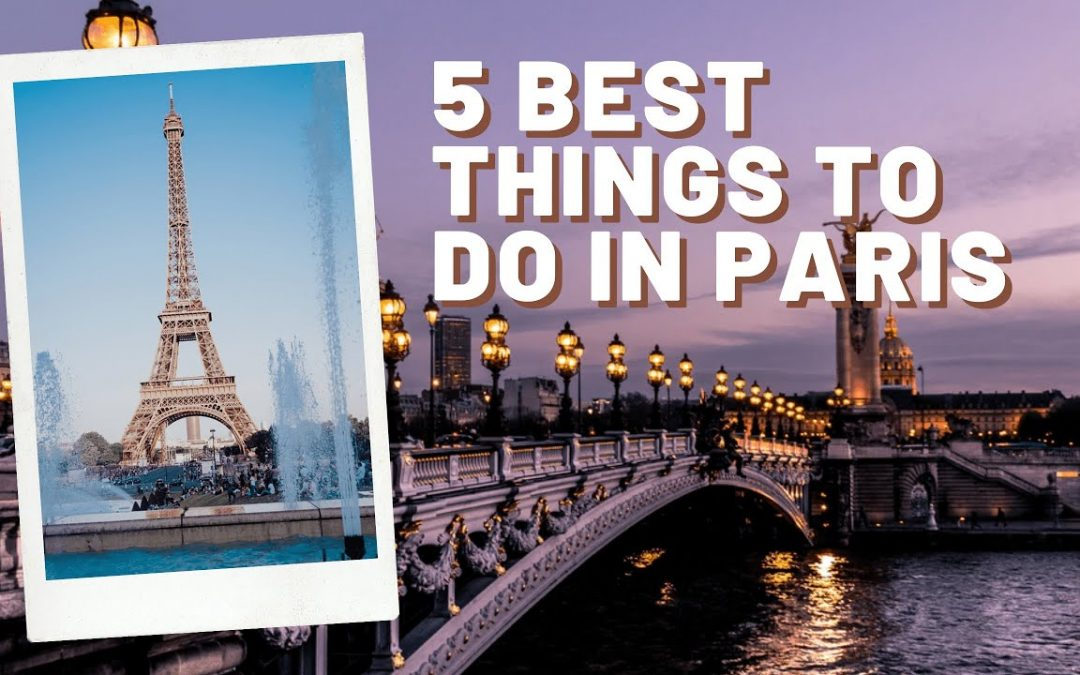 5 Best things to do in #Paris | #shorts