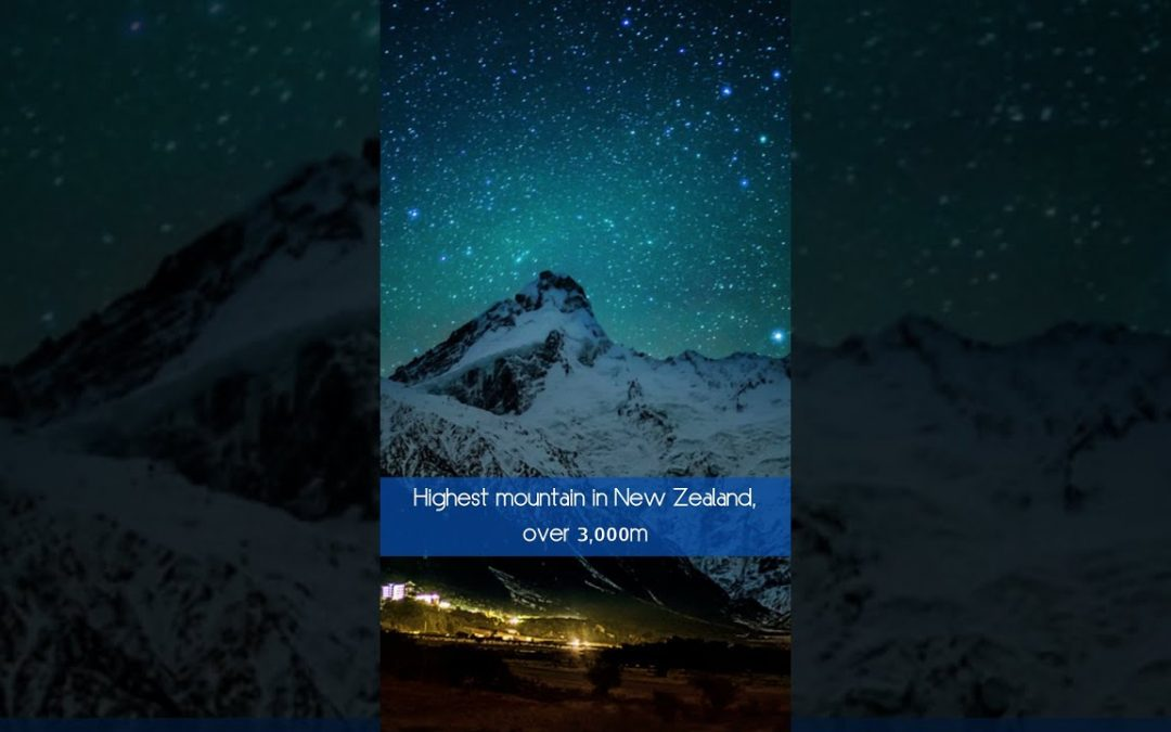 3 Must Go Places   South Island, New Zealand #shorts #travel #NewZealand