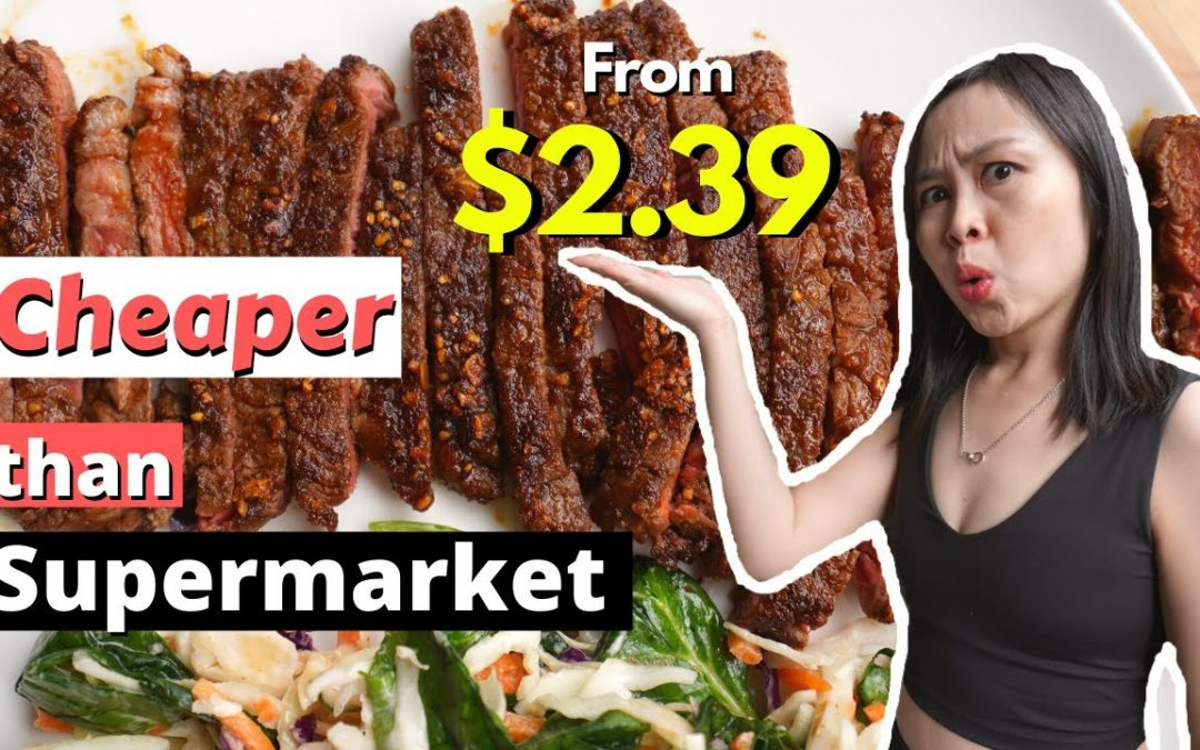 Sydney Cheap Eats under $5! Food Delivery – EVERYPLATE review