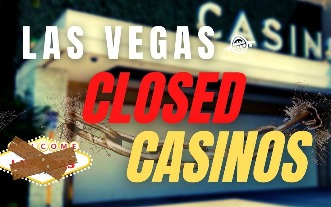 Shuttered Vegas Casino Tour Fall 2021 – Boarded Up Casinos of Las Vegas – When Will They Re-open?