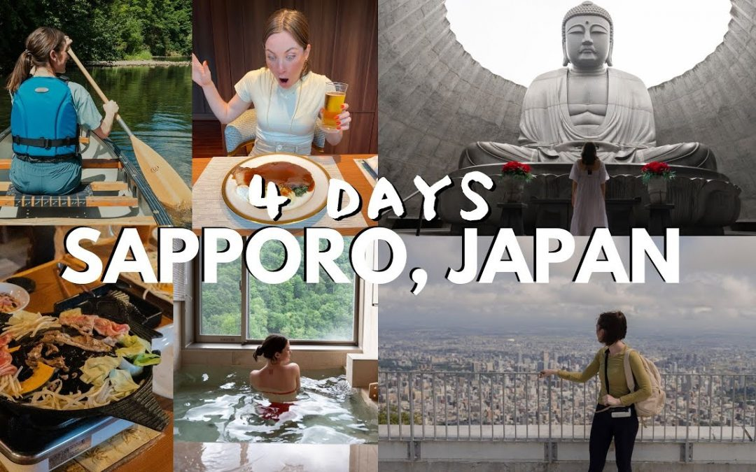 Ultimate guide to SAPPORO, JAPAN! Discover Hokkaido in the summer!
