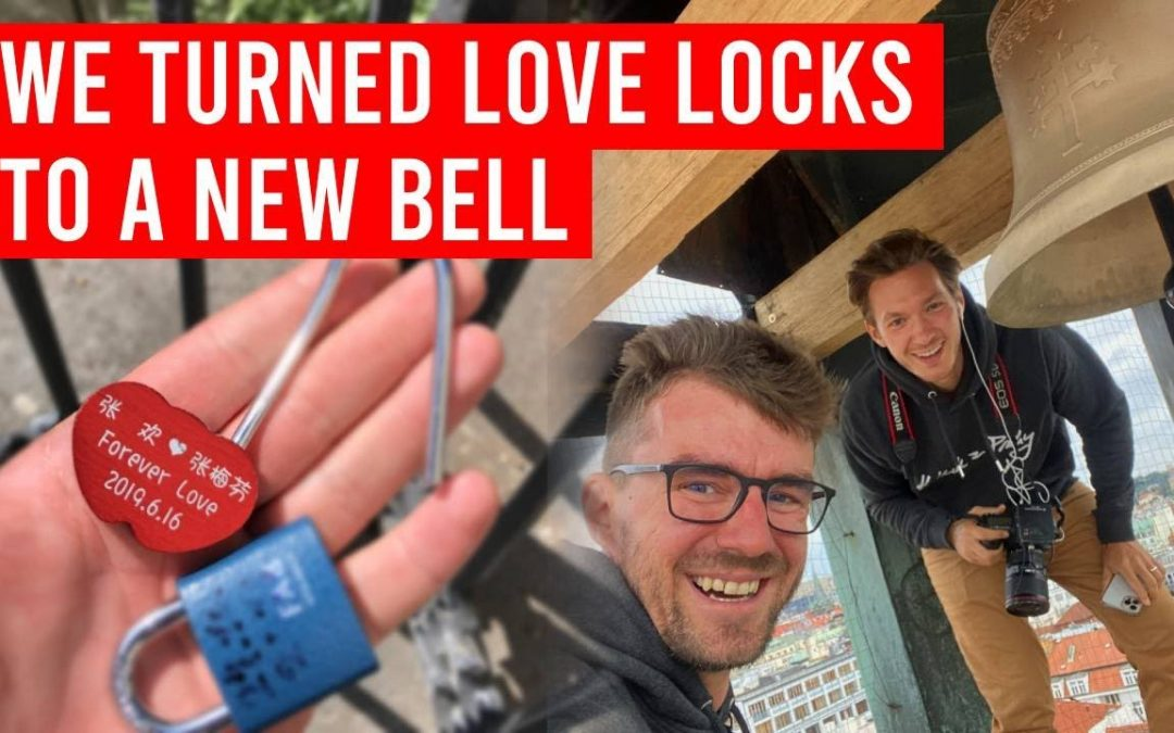 We turned love locks from tourists into a new bell