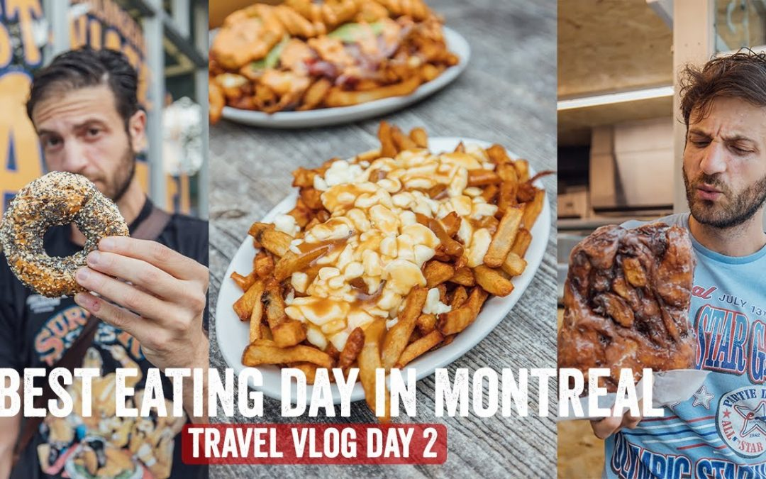 Best Eating Day in Montreal! Travel Vlog Day 2 | Jeremy Jacobowitz