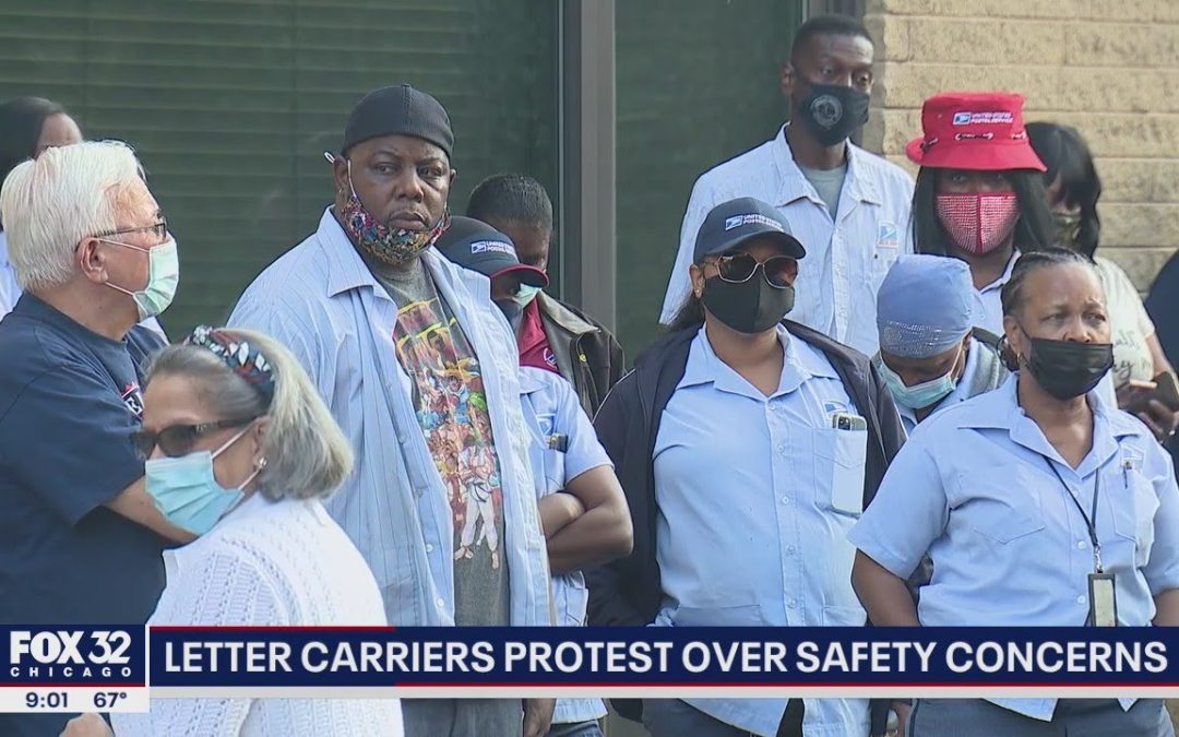 Chicago letter carriers stage protest over unsafe working conditions