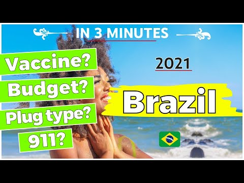 Brazil  Quick Vacation Travel Guide ✈   2021