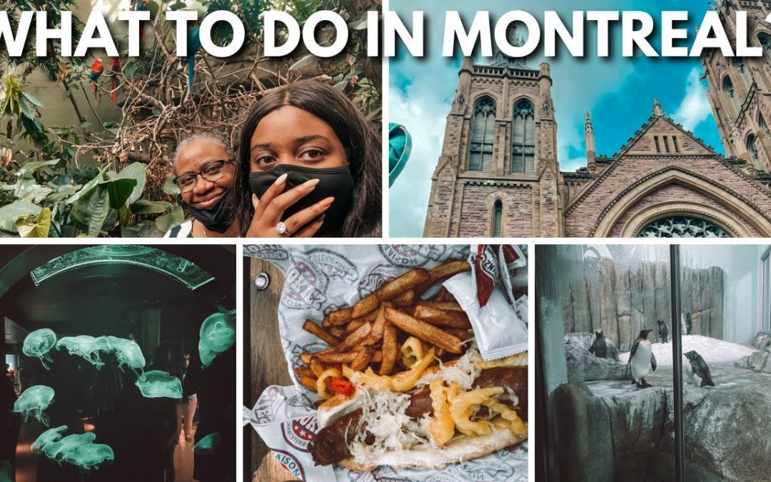 Things to do in montreal | Montreal travel vlog 2021