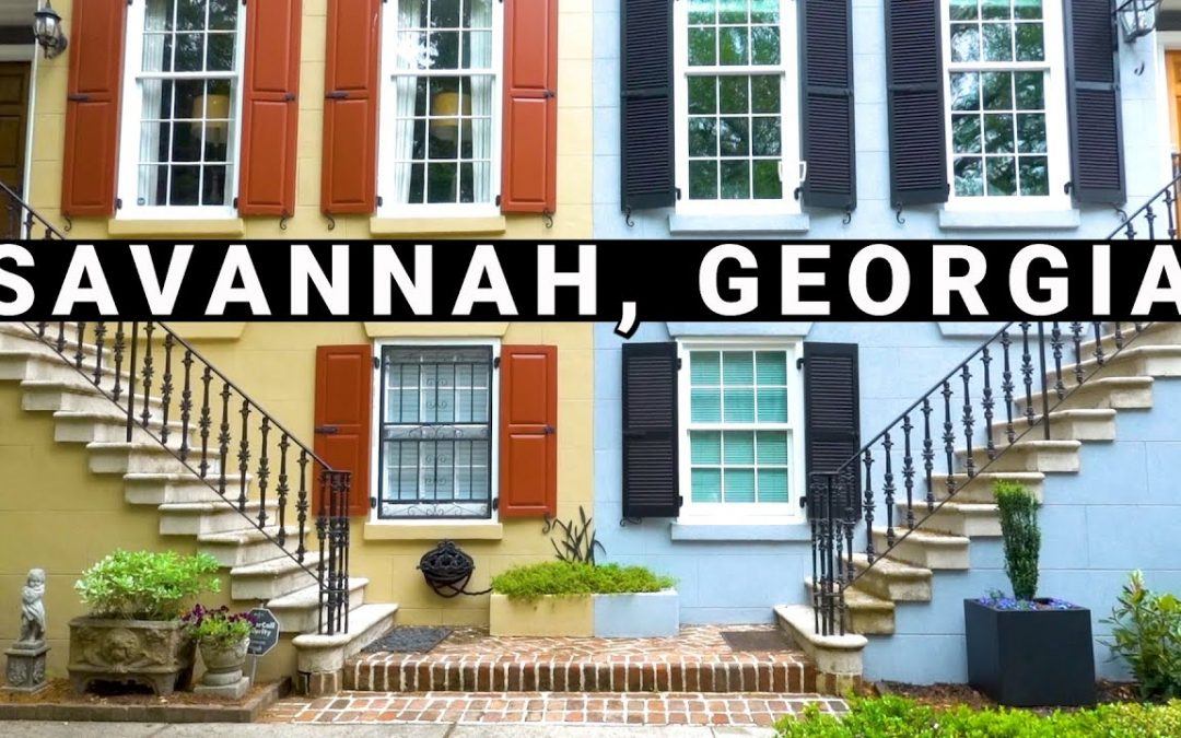 Savannah Vacation Travel Guide | Hosted by Baby Olive