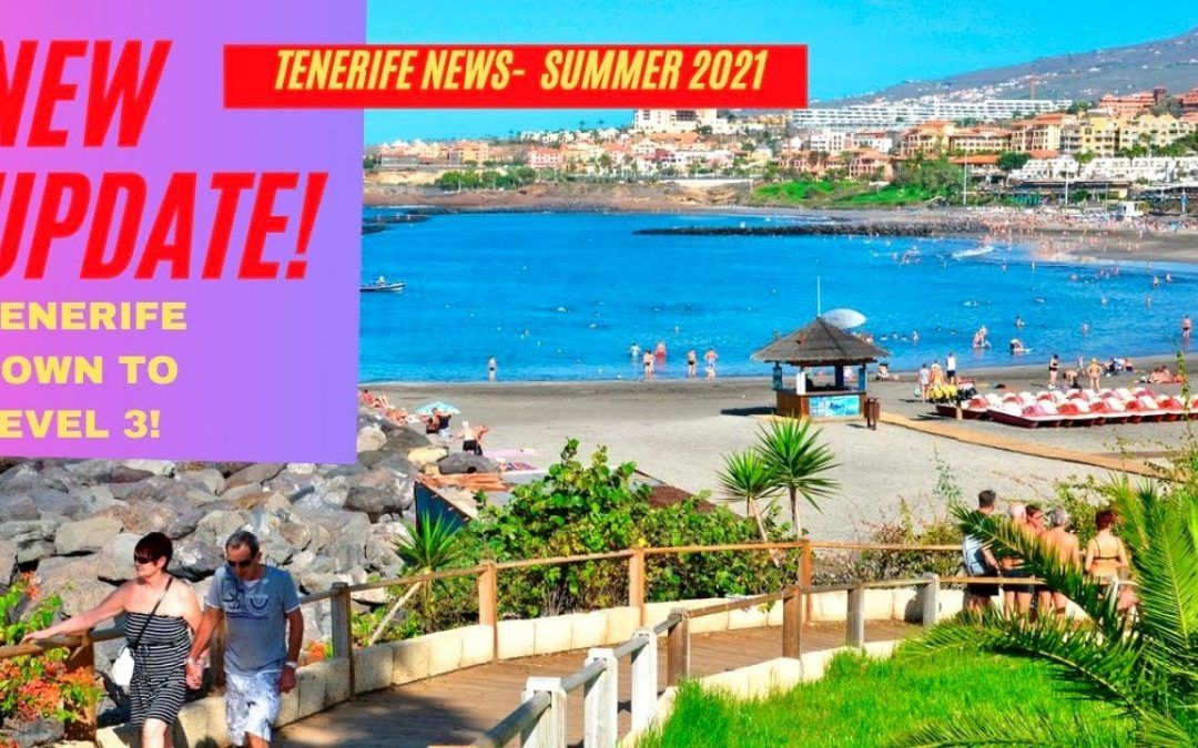 Tenerife News Update: more GOOD NEWS! Nightclubs open again, we drop down to level 3! ☀️