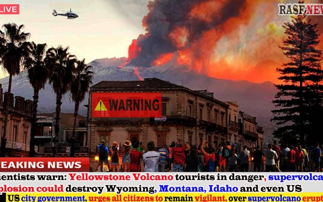 Scientists warn(Sep 20,21)Yellowstone is in danger,super explosion could destroy Wyoming,Even the US
