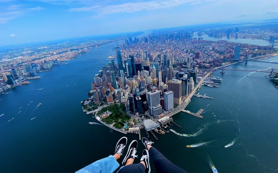 Helicopter Flight Over New York City SPECTACULAR VIEWS!!