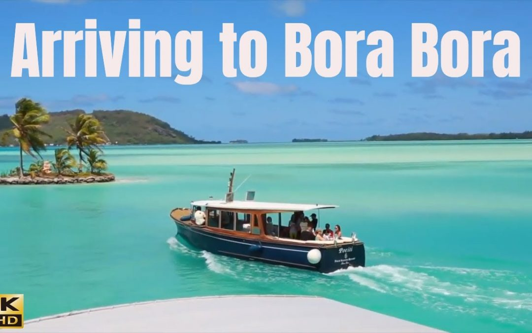 Transfer to our beautiful overwater bungalow 4K