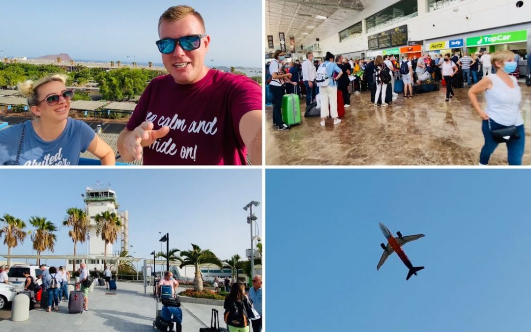 Tenerife South Airport- it's BUSY! Tips & Plane Spotting! ✈️