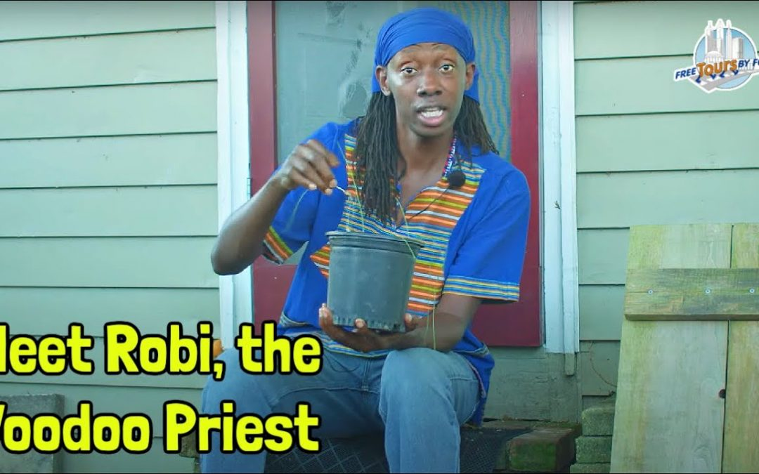 A Day in the Life of New Orleans Voodoo Priest Robi