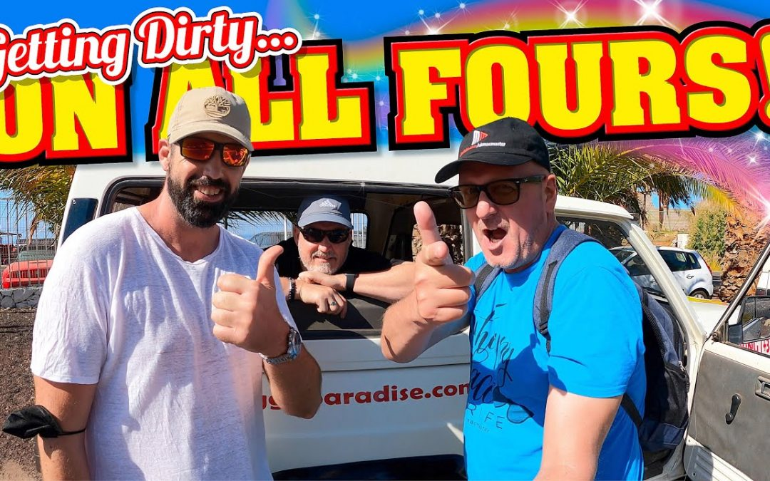 Getting Dirty on all Fours! 4×4 Jeep Tour of Tenerife.