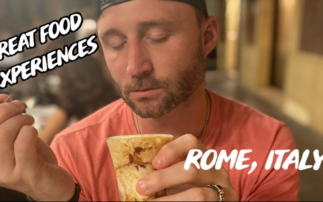 Restaurants & Food Experiences To Go To While in Rome, Italy | Travsessed Vlog 4