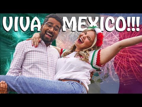 AMERICANS' FIRST MEXICAN INDEPENDENCE DAY – FIREWORKS, MILITARY PARADE, FOOD – MEXICO CITY 2021