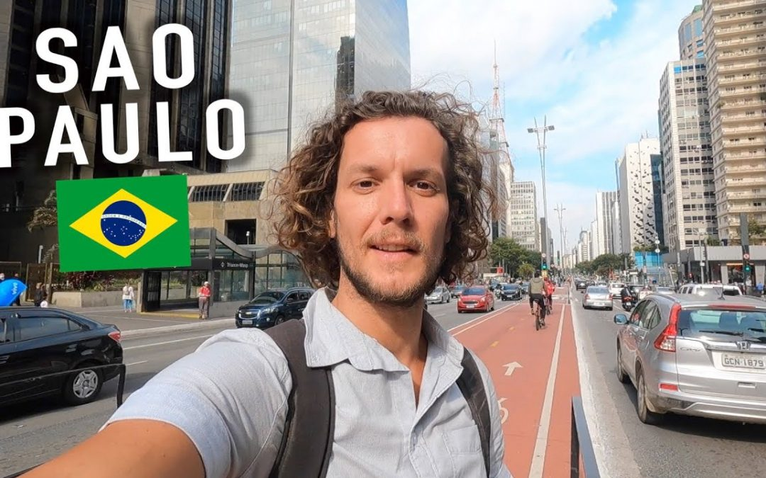 FIRST TIME IN SAO PAULO! 🇧🇷 BRAZIL'S MEGA CITY