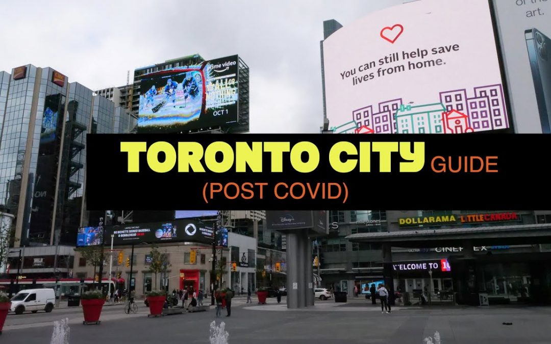 TORONTO TRAVEL GUIDE  – 8 BEST PLACES TO VISIT (SEP 2021 POST COVID 19) DJI AIR 2S IPHONE 13