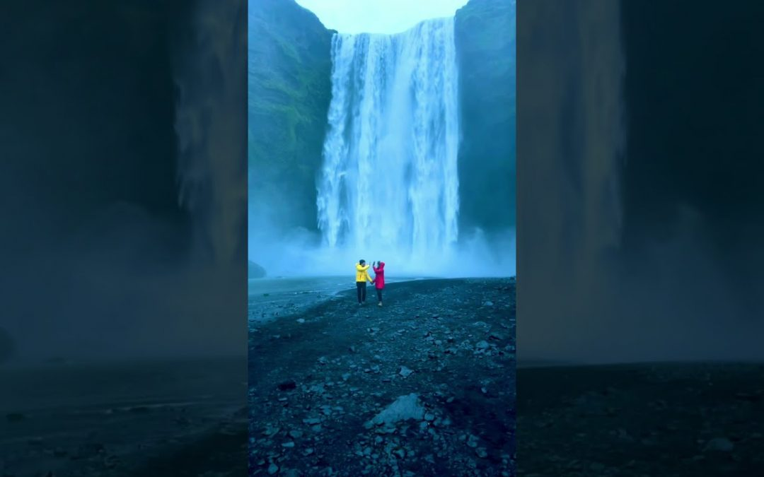 You will never get tired of waterfalls in Iceland. Is this the best one?
