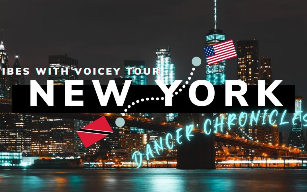 NEW YORK TOUR | Dancer's Footage | Vibes With Voicey Tour