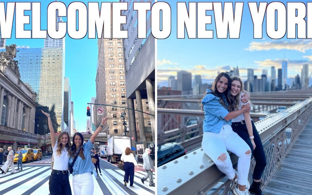 WELCOME TO NEW YORK   MADI'S FIRST TIME IN NEW YORK CITY!
