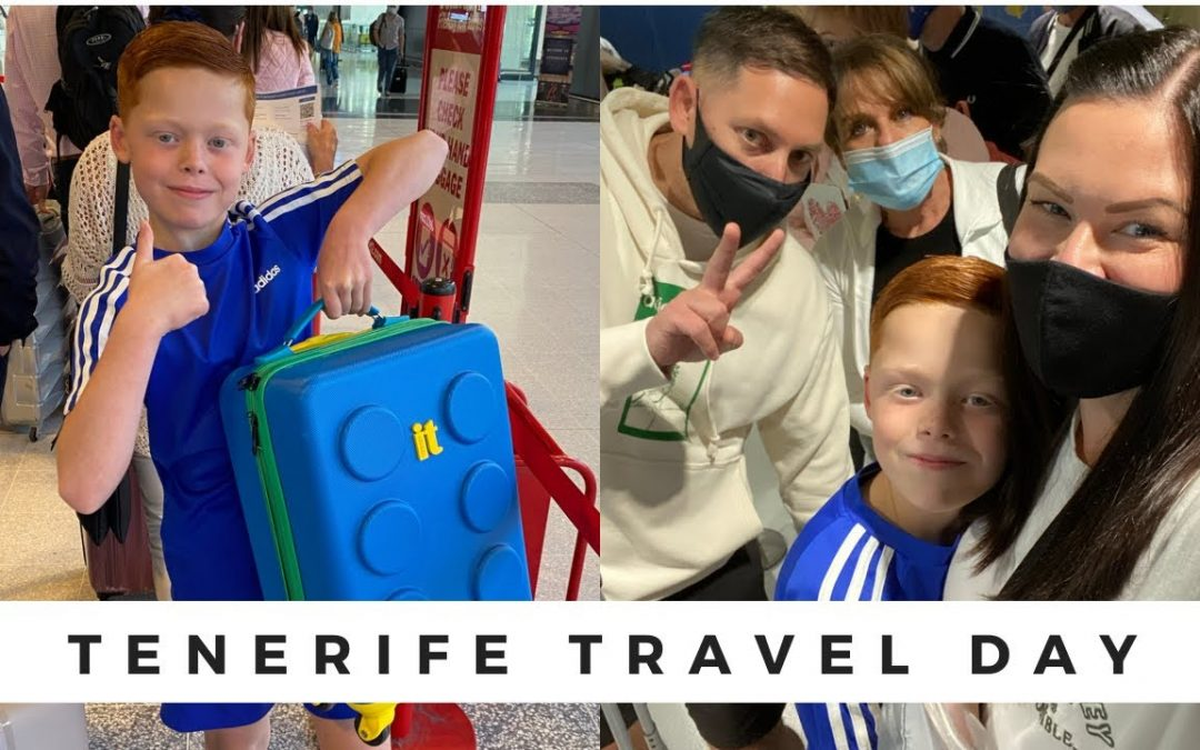 Tenerife Travel Day | 18th Sep 2021 | Our first overseas holiday post COVID!!