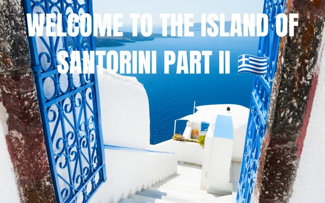 SANTORINI II 🇬🇷 Welcome to one of the world's most exciting vacation destinations. #vacay #explore ✈