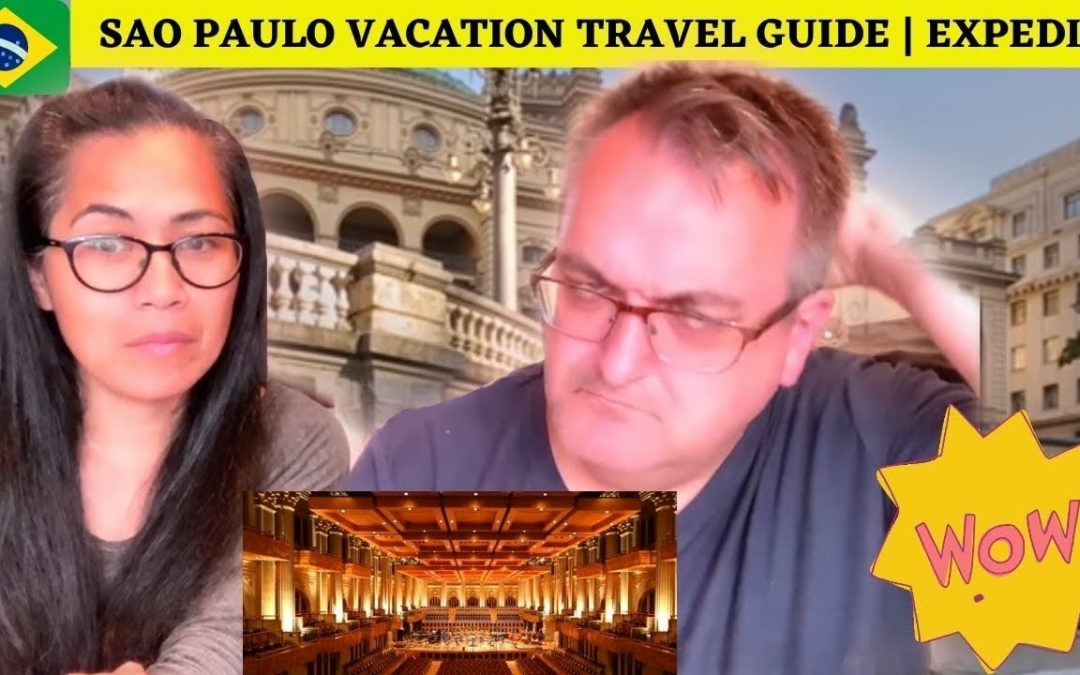 🇩🇰NielsensTv2 REACTS TO 🇧🇷Sao Paulo Vacation Travel Guide | Expedia -WOW😱😍