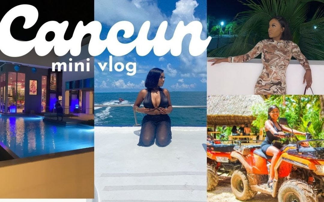 From Dallas to Cancun | MINI TRAVEL VLOG (did it like it was my bday… cause it was:)