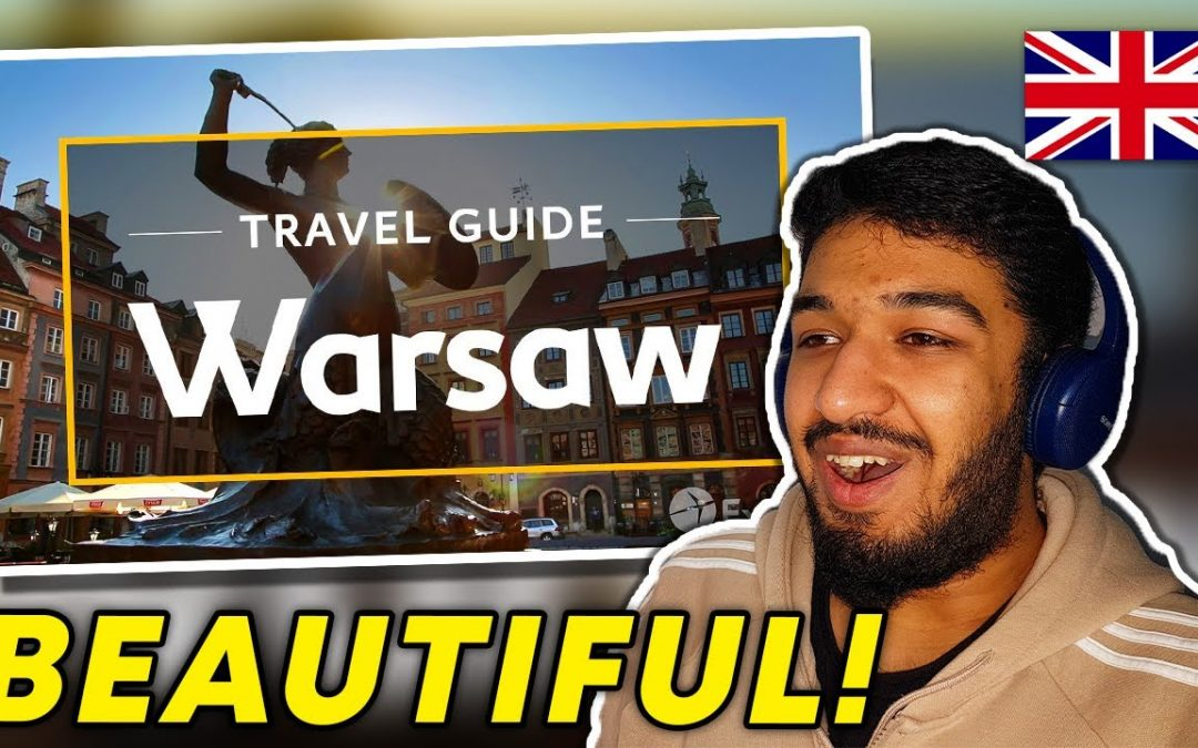 🇬🇧 🇵🇱 BRITISH Reacts To WARSAW VACATION TRAVEL GUIDE | EXPEDIA REACTION