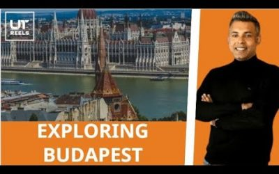 Explore Budapest with me While I take a walking tour   My First Go Pro shoot in Budapest   UT Reels