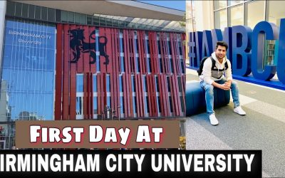 Birmingham City University Campus Tour First Day Student Experience And City Tour